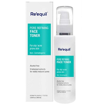Re'equil Pore Refining Face Toner for Oily, Sensitive and Acne Prone Skin