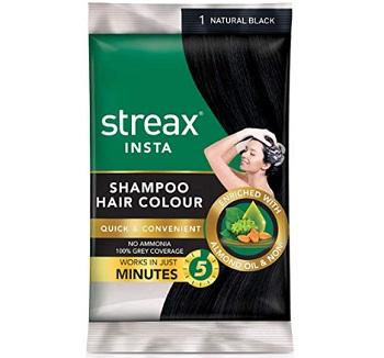 Streax Shampoo Hair Color
