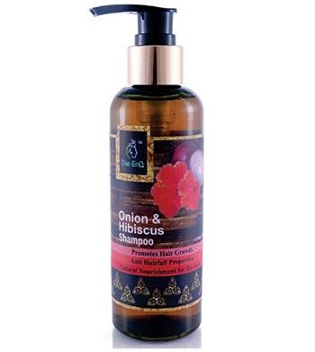 The EnQ Onion & Hibiscus Shampoo Anti Hair Fall