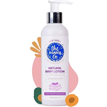 The Moms Co Natural Baby Lotion
