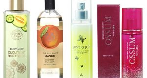 Best Body Mists For Women in India