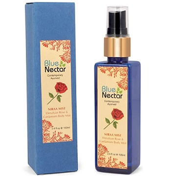 Blue Nectar Uplifting Body Mist with Himalayan Rose and Cardamom