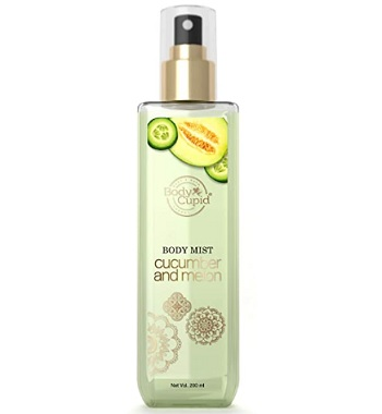 Body Cupid Cucumber and Melon Body Mist