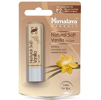 Himalaya Natural Soft Vanilla Lip Balm