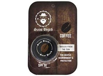 Saint Beard-Lip Balm (Coffee) For Men With SPF 30