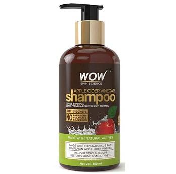 WOW Apple Cider Vinegar Sulphate Free Shampoo