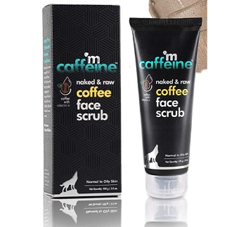mCaffeine Naked & Raw Coffee Face Scrub