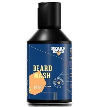 Beardhood Beard Wash Biotin And Aprikot Kernel Oil