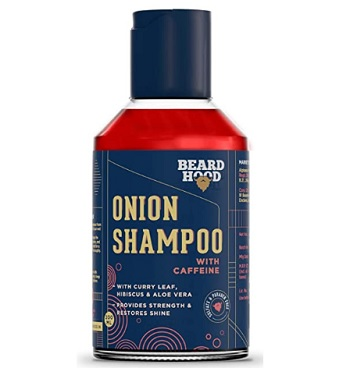 Beardhood Onion Hair Fall Control Shampoo With Caffeine
