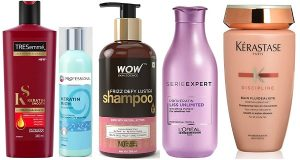 Best Hair Straightening Shampoos in India
