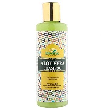Divine India Aloe Vera Shampoo