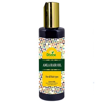 Divine India Amla Hair Oil Enriched With Brahmi and Neem
