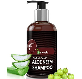 Emeveta Herbal Aloe Vera Neem Shampoo for Hair Growth