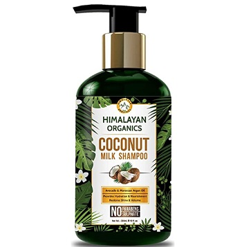 Himalayan Organics Coconut Milk Shampoo