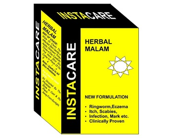 Instacare Herbal Cream for Jock Itch, Ringworm