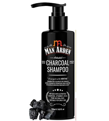 Man Arden Activated Charcoal Shampoo