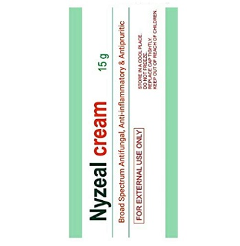 Nyzeal Cream Broad Spectrum Antifungal Cream