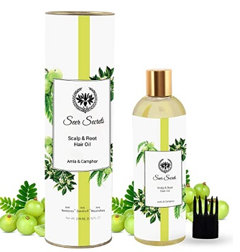 Seer Secrets Amla & Camphor Hair Oil