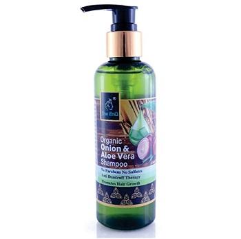 The EnQ Organic Onion & Aloe Vera Shampoo