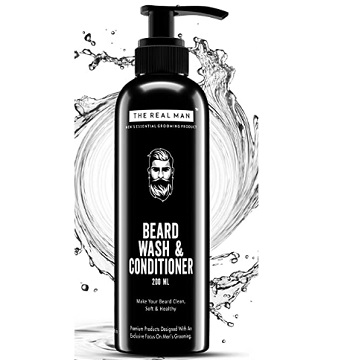 The Real Man New Beard Wash & Conditioner