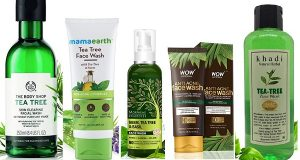 Top 10 Best Tea Tree Oil Face Washes in India