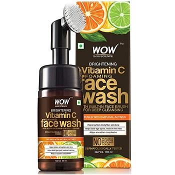 WOW Brightening Vitamin C Foaming Face Wash