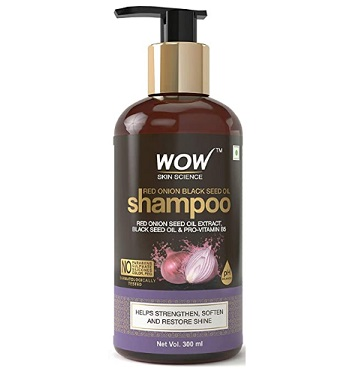 WOW Red Onion Black Seed Oil Shampoo