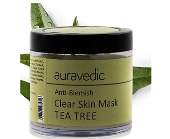 Auravedic Anti Blemish Clear Neem and Tea Tree Skin Mask
