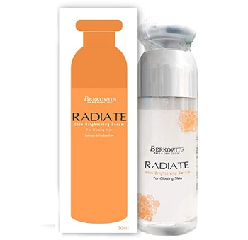 Berkowits Radiate Skin Brightening Face Serum for Glowing Skin