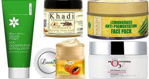 Best Face packs for Pigmentation
