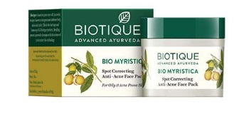 Biotique Bio Myristica Spot Correcting Anti Acne Face Pack