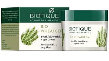 Biotique Bio Wheat Germ Firming Face And Body Night Cream