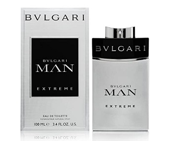 Bvlgari Man Extreme Cologne Spray for Men