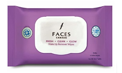 FACES Fresh Clean Glow Makeup Remover Wipes