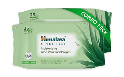 Himalaya Moisturising Aloe Vera Facial Wipes