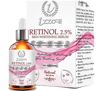 IZZORI Retinol Skin Whitening Facial Serum