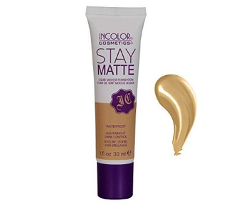 Incolor Stay Matte Lightweight Waterproof Liquid Mousse Foundation