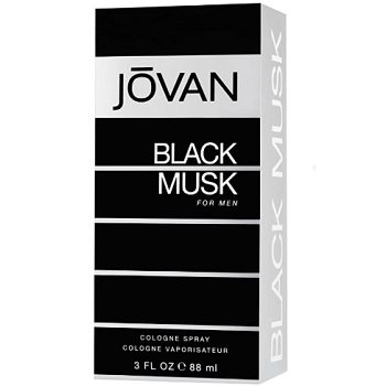 Jovan Black Musk Eau de Cologne for Men