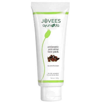 Jovees Ayurveda Tea Tree and Clove Anti Acne Antiseptic Face Pack