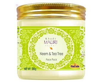 Khadi Mauri Herbal Neem & Tea Tree Oil Face Pack