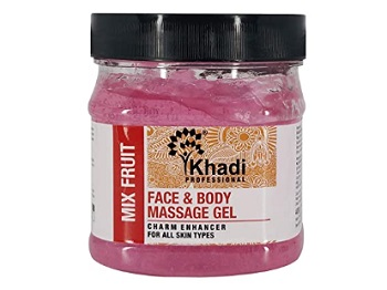 Khadi Mix Fruit Face & Body Massage Gel
