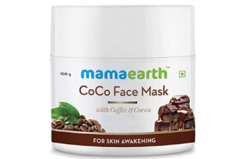 Mamaearth CoCo Face Pack For Glowing Skin with Coffee & Cocoa