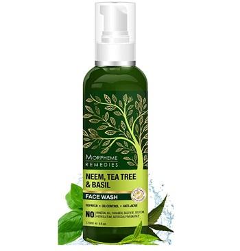 Morpheme Remedies Neem, Tea Tree & Basil Face Wash