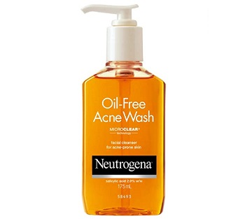Neutrogena Oil Free Acne Face Wash (2)