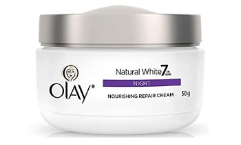 Olay Night Cream Natural White Fairness Night Moisturiser