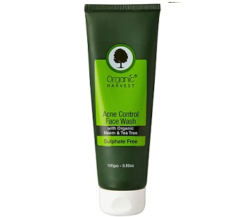Organic Harvest Acne Control Face Wash