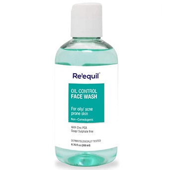 RE' EQUIL Oil Control Anti Acne Face Wash
