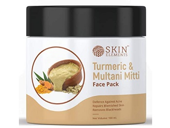 Skin Elements Turmeric (Haldi) & Multani Mitti Face Mask Pack
