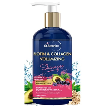 StBotanica Biotin & Collagen Volumizing Hair Shampoo
