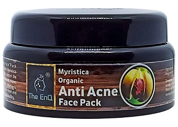 The EnQ Myristica Organic Anti Acne Face Pack